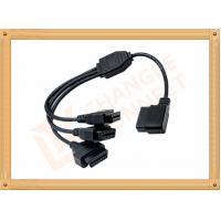 OBD 16 Pin obd2 extension cable Y Type with UL and Rohs standard CK-MF16Y03L Manufactures