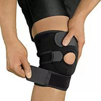 Open Patella Compression Knee Brace Supports For Injury Recovery Adjustable Strapping Breathable Manufactures