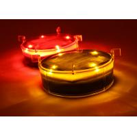 Solar Dock Decorative Lights With Flashing or Steady Lighting Outdoor Waterproof IP68 Strong Polycarbonate Shell Manufactures