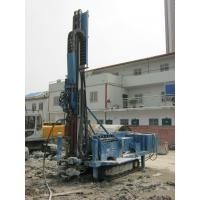 Quality 140m - 180m Water Drilling Machine Holding Shackle Three Head Variable Hydraulic System for sale