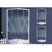 Colorful Polished Frame Square Shower Enclosure 800 × 800 White Handle Manufactures