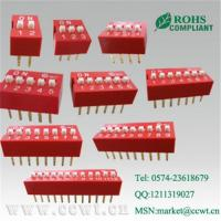 Slide type dip switch,DIL switch,digital switch Manufactures