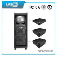 Modular Rack Mount UPS Uninterrupted Power Supply with Pure Sine Wave , Low Noise Manufactures