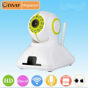 Wireless Megapixel IP Camera 720p p2p ip camera Manufactures