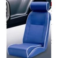 Universal Blue PVC Sport Racing Seats With Deep Thing Bolsters / Bucket Car Seat Manufactures