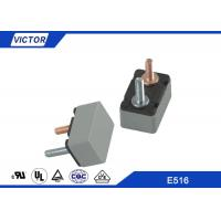 5-50A Metal Plastic Automotive Circuit Breaker With Right Angle Mounting Bracket Manufactures