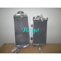 High Efficiency Aluminum Motorcycle Radiator , Universal Motorcycle Radiator Manufactures