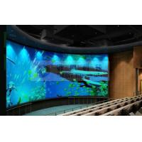 Large curved screen 3D theatre cinema system with bubble snow rain lighting special effect system Manufactures