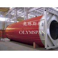 Hot Oil Fired Horizontal Thermal Oil Boiler High Efficiency For Plastic / Rubber Manufactures