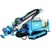 150D Anchor Crawler Drill Rig For airport / Water well drilling machine Manufactures