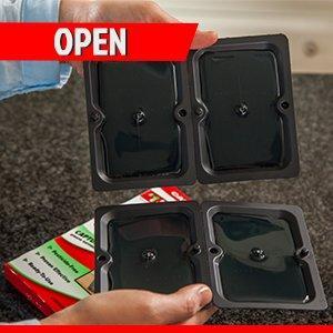 open-mouse glue trap usage