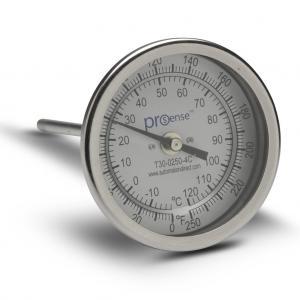 Indoor bimetal wireless indoor thermostat temperature sensor thermometer with hygrometer Manufactures