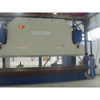 600 Ton 6 M Hydraulic Press Brake Machine For Light Pole 45 Kw Manufactures