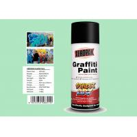 Fan Nozzle Graffiti Spray Paint Light Green Color For Wall Art APK-6601-11 Manufactures