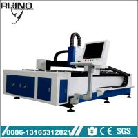 500W Raycus Fiber Laser Cutting Machine For Steel / Carbon Steel Manufactures