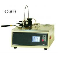 China GD-261-1 Low Price Petroleum Product Flash Point Tester on sale