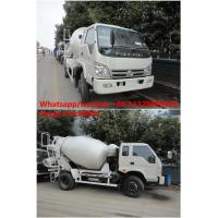 Quality factory direct sale best price FORLAND 4*2 RHD cement mixer truck, hot sale for sale