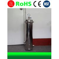 SS Filter Housing Stainless Steel Water Filter Housing 20 Inch 3 Cores Manufactures