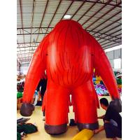 Environmentally Friendly Custom Inflatable Cartoon Characters For Advertising Manufactures