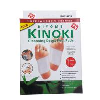 10pcs Kinoki Detox Foot Pads Patch Detoxify Toxins Adhesive Help Sleep Keep Fit herbal china foot patch factory supply Manufactures