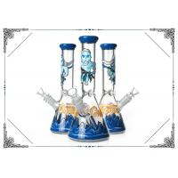 Buy cheap New Arrival Beaker Bong Hand Drawn Game of Thrones Art On Glass Smokig Pipe from wholesalers
