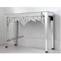 Venetian Style Mirrored Console Table 100 * 38 * 80cm / Customized Size Manufactures