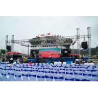 Spigot 6061-T6 6082-T6 Aluminum Stage Truss For Corporate Events Concerts Manufactures