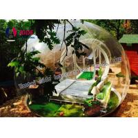 Quality 0.8MM Pvc Anti Clod Clear Dome Tent Transparent Bubble Tent Camping for sale