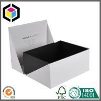 White Color Custom Luxury Printing Paper Gift Box; High Quality Gift Paper Box Manufactures