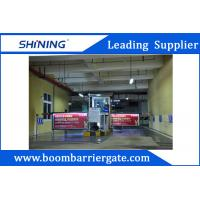 Waterproof Parking Lot Boom Advertising Barriers Durable For Outdoor Manufactures