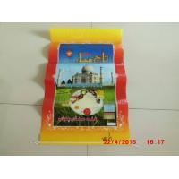 Laminated Poly Bags With Hangers , Transparent Woven Grain Storage Bags Manufactures