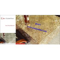 China 54'PVC Table Cloth --RNPT Crystal lace table cloth ---fancy home decoration table cover on sale