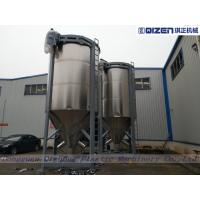 15 Tons Chicken Feed Mixer Machine , Feed Mill Mixer With Stainless Steel Paddles Manufactures