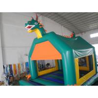 Outdoor Water Proof Inflatable Fun City Jumper / Backyard Bounce Fun City With Slide Manufactures