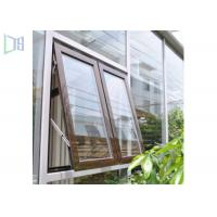 Quality High Performance Aluminum Awning Window / Top Hung Roof Window for sale