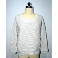 Semi Combed Cotton Women'S Pullover Sweater Round Neck BGAX16288 Manufactures