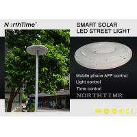 Plaza Garden Solar Powered Led Light With Phone APP Control CE / RoHS Manufactures