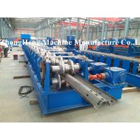 Guard Rail Rollforming Machine Cold Roll Forming Equipment With Hydraulic Punching Manufactures