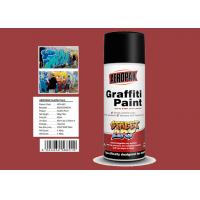 Minibus Red Color Flexible Spray Paint Weather Resistance High Solid Content Manufactures