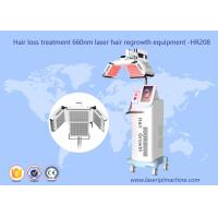 660nm Diode Laser Hair Growth Machine Laser Therapy Machine HR208 1 Year Warranty Manufactures