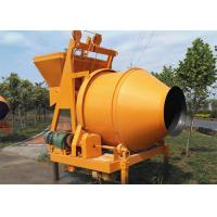 450L Mobile Portable Concrete Mixer 11kw Mixing Motor With 1900kg Weight Manufactures