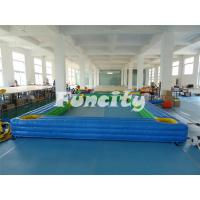 China Durable Inflatable Water Sports 0.55mm PVC Tarpaulin Inflatable Pool Games on sale