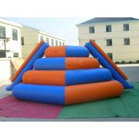 Inflatable Water Sports Toys With 0.9mm PVC Tarpaulin , Durable Water Ladder Manufactures
