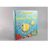 China Cute Matte Hardcover Children'S Books Printing With Spot UV And Oil Varnishing on sale