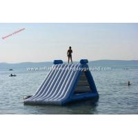 Ocean Big Kidwise Inflatable Water Slides , Floating Water Slide Equipment Manufactures