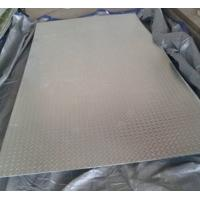 Bright Silver Hot Rolled Steel Sheet Coil Chequered GB20 Grade Anti Slip Manufactures