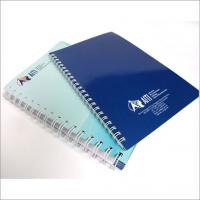 YO Binding PVC plastic for the cover Custom Notepad Printing Services SGS-COC-007396 Manufactures