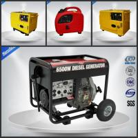 Open Small Portable Diesel Generator 7.5 Kva With OEM / ISO9001 Certification Manufactures