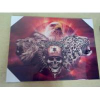 Buy cheap PET MDF back MDF 3D picture for home decoration from wholesalers