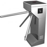 Intelligent Vertical Turnstile Gate #304 Stainless Steel with bar code Reading Manufactures